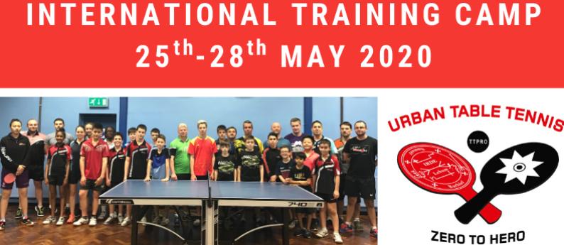 Urban TTC - International Camp 25-28 May