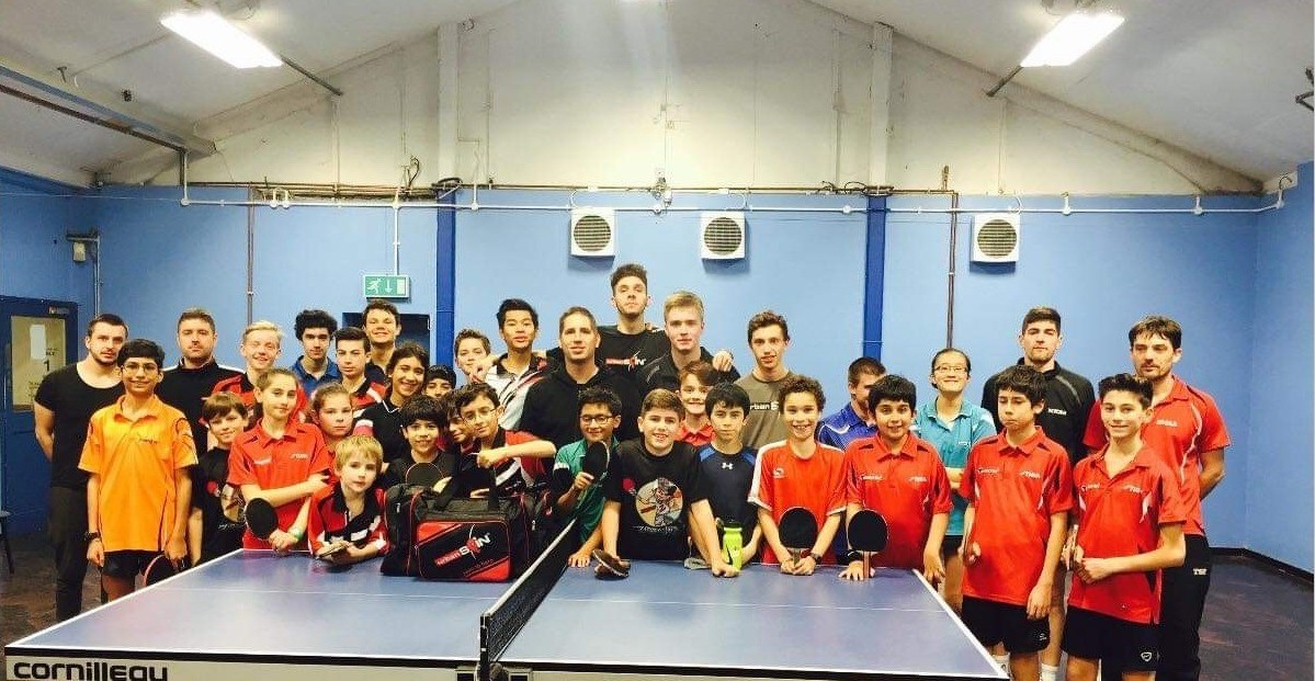 Barnet Table Tennis Centre - Junior Squad