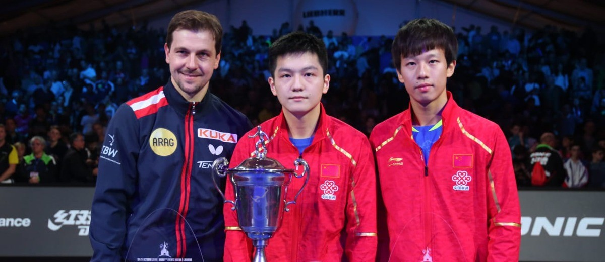 Fan Zhendong puts his name up in lights on final day in Paris