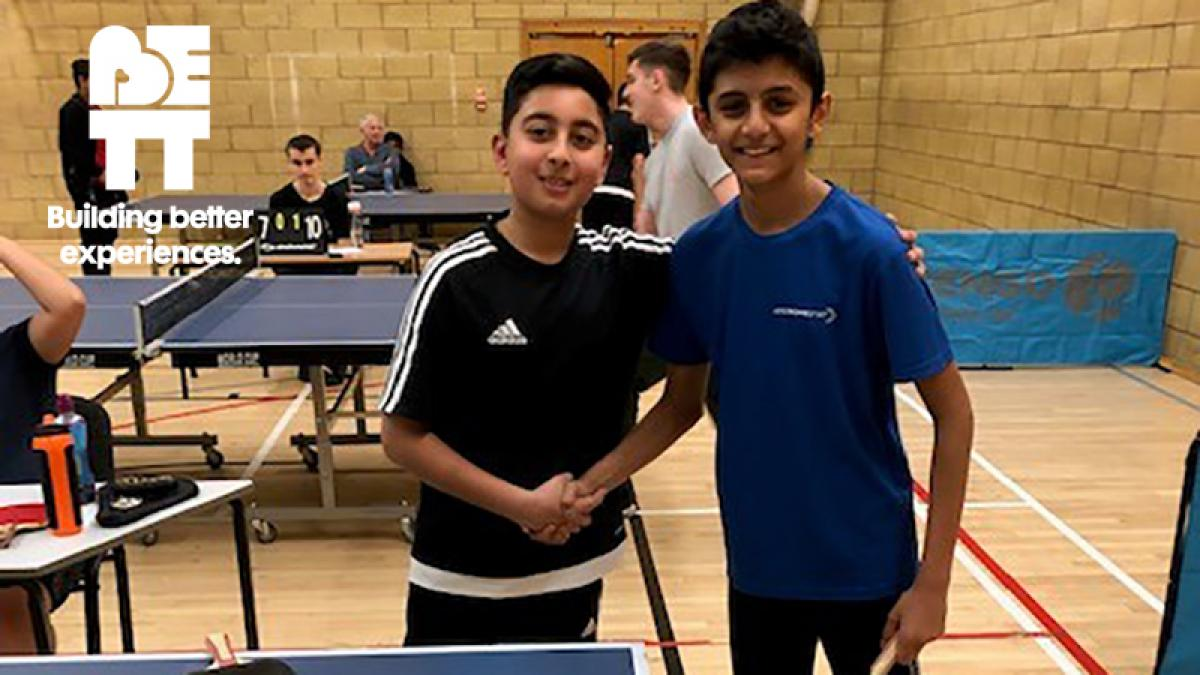 Be TT: Pairs League is perfect for youngsters