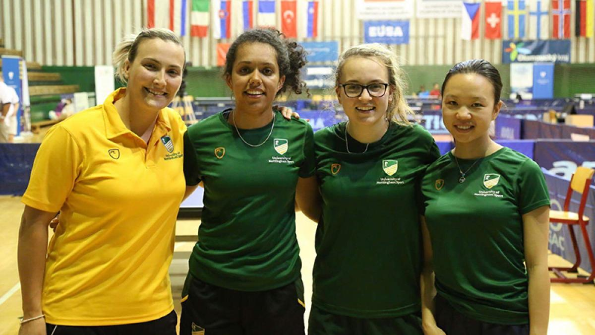 BUCS gives boost to women's table tennis with top tier