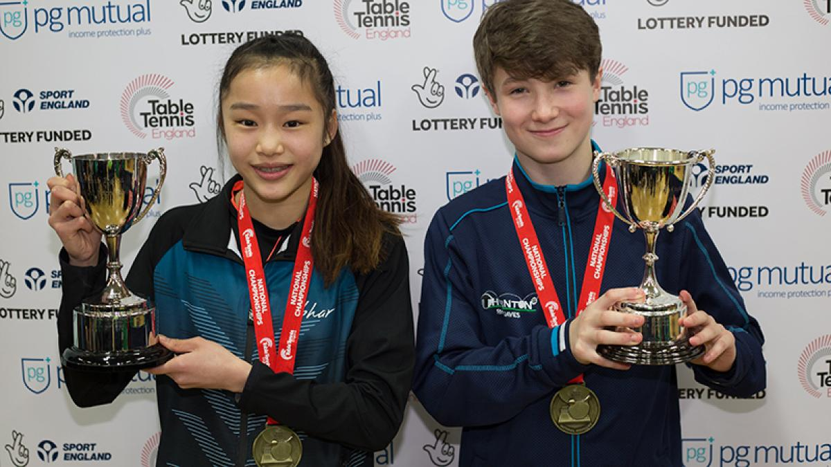 Chan and Davies are National Cup champions