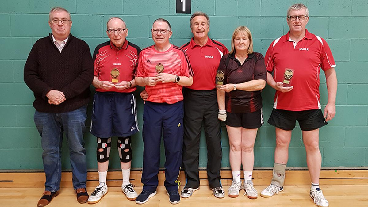 County Champs: Essex are Over-60 winners