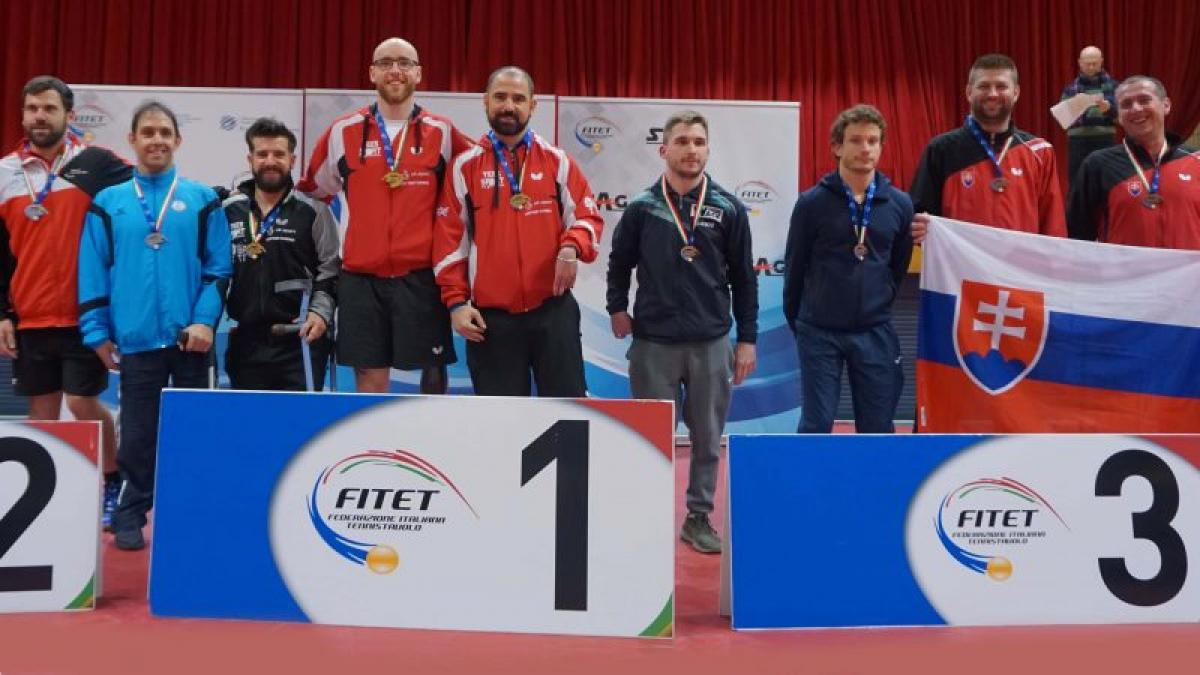 Golden finish for British team in Italy