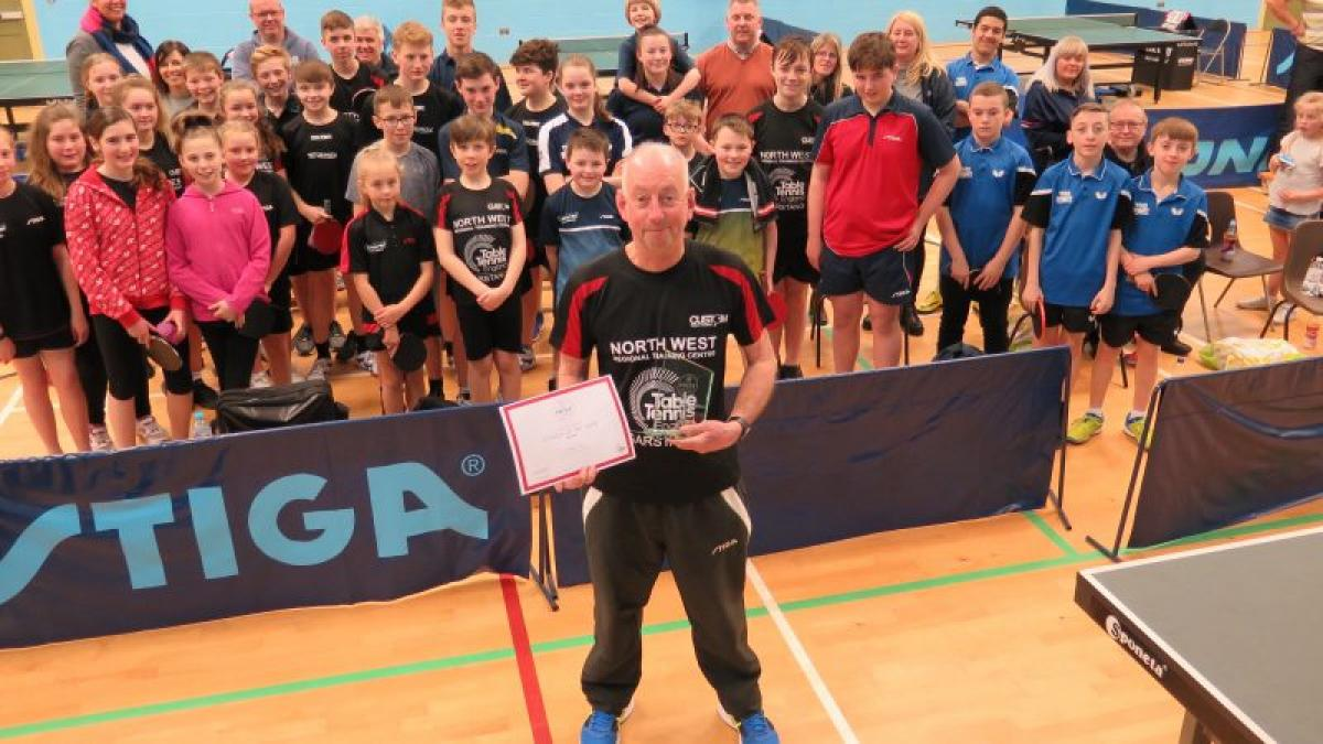 North West Coach of the Year – Graham Coupe