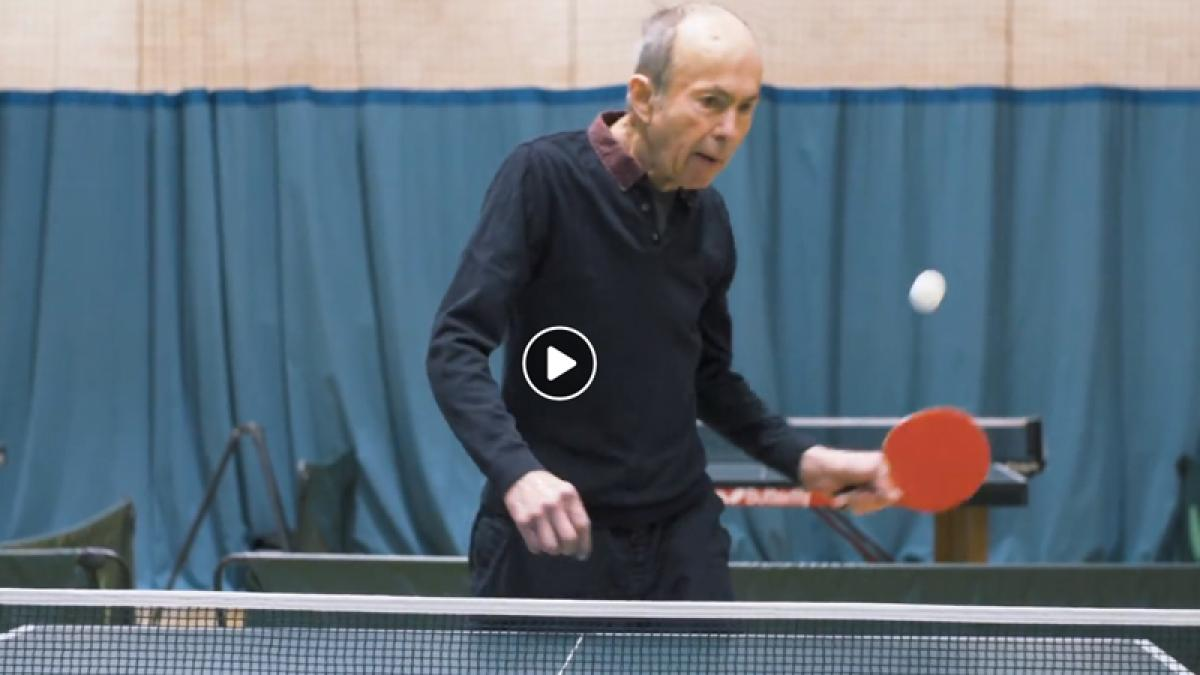 Table tennis is a 'miracle' for Parkinson's patient